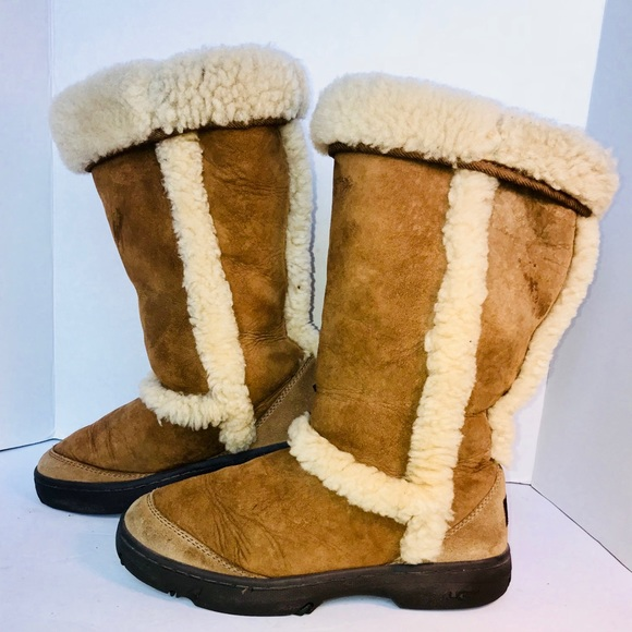 1f48a9463d6 Uggs Sundance Genuine Shearling Waterproof Boots